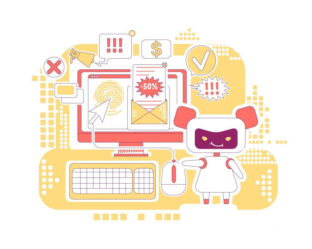 traffic bot performing click fraud